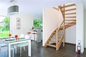 Escalier Bois Quart Tournant : escalier ~ Farleysfitness.com Idées de Décoration