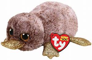 Ty Beanie Boo - Brown Platypus | Toy | at Mighty Ape Australia