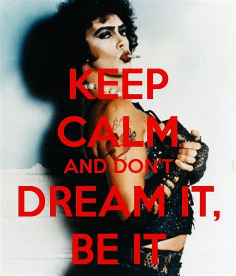 Don't Dream It, Be It  When Three Isn't A Crowd Loving