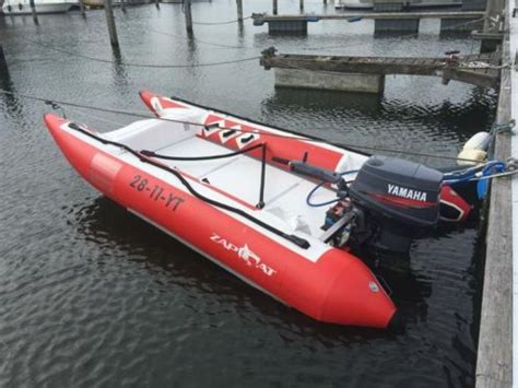 Race Boot Te Koop by Unieke Kans 2014 Zapcat High Speed Rubberboot 50pk Yamaha
