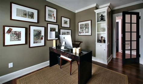 modern home office wall colors accent wall inside home