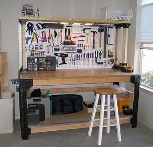PDF DIY Garage Workbench Plans Ideas Download g plan