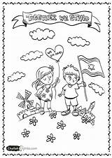Coloring Israel Pages Jewish Creation Yom Challah Adults Days Hebrew Haatzmaut Printable Shabbos Colouring Flag Crumbs Printables Drawing Etrog Lulav sketch template