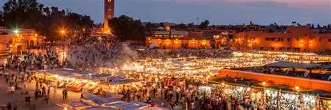 Visit Marrakesh on a trip to Morocco