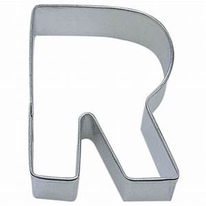 letter r cookie cutter cookie cutter experts since 1993 With large letter cookie cutters