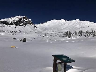 Butte Gray Ski Bowl Shasta Mount Mt