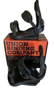union contact pro snowboard bindings mensboys  size