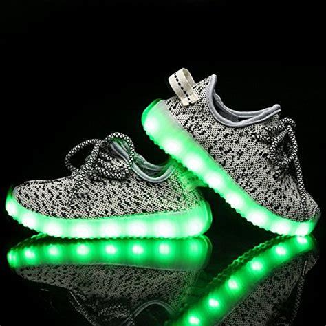 free light up shoes cayanland 11 colors modes kids 39 led light up shoes kids