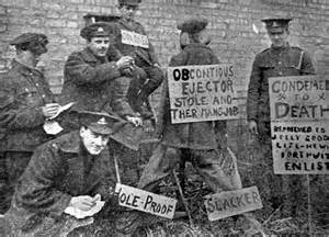 Conscientious Objector WW1