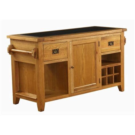 oak kitchen island units besp oak vancouver oak granite kitchen island unit vxd006 designer furniture ltd