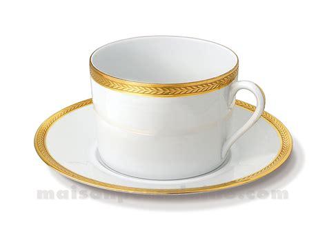 tasse dejeuner soucoupe limoges empire 10x7x17 5 3 maison de la porcelaine