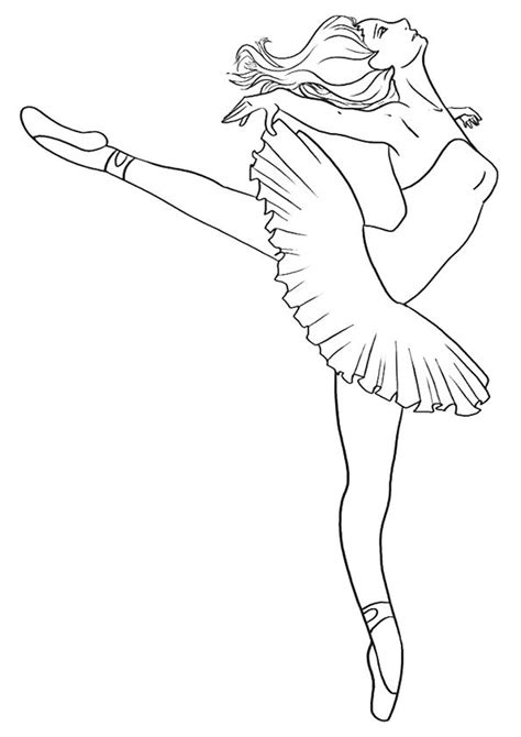 Click SHARE THIS STORY ON FACEBOOK | Dance coloring pages