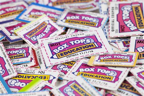 box tops food products   meet school nutrition