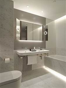 6 modern ways to use led light in the bathroom regularlink With carrelage adhesif salle de bain avec led flexible strip lights