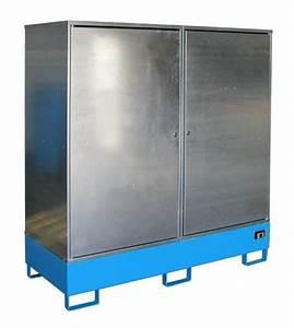 Schrank 100 X 200 : gefahrstoff schrank gs 2 f r 2 x 200 l fass g nstig bestellen lagertechnik profishop ~ Bigdaddyawards.com Haus und Dekorationen