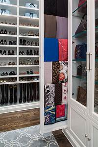 Chic Shoe Cubby method Los Angeles Traditional Closet