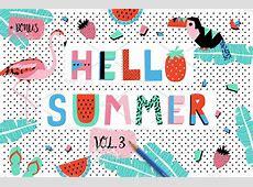 Hello Summer bundle VOL3 ~ Graphic Objects ~ Creative Market