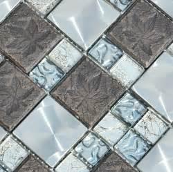 metal wall tiles kitchen backsplash glass metal mosaic kitchen backsplash tile ssmt122 blue