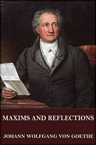maxims and reflections by goethe summary notes and lessons