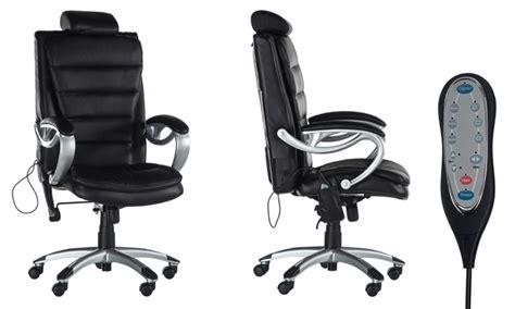 missing discount value chaise de bureau avec fonction de modelage groupon