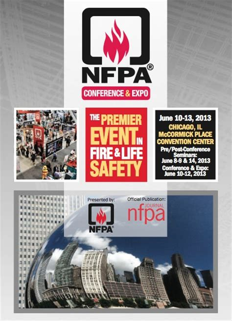 june   nfpa conference expo coming  chicago