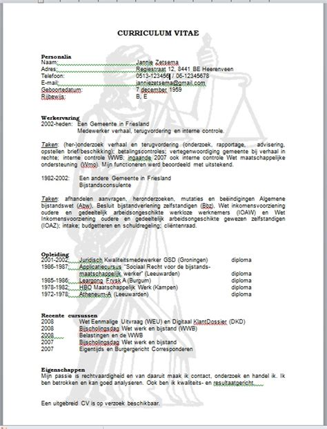Curriculum Vitae Elevator Pitch by Jezelf Presenteren Met Je Curriculum Vitae