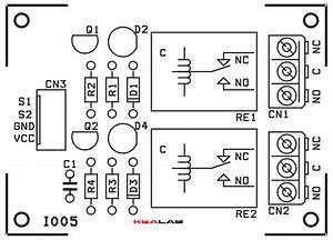 2 Channel Relay Board  U2013 Circuit Wiring Diagrams