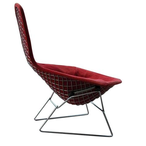 vintage mid century knoll bertoia bird lounge chair for