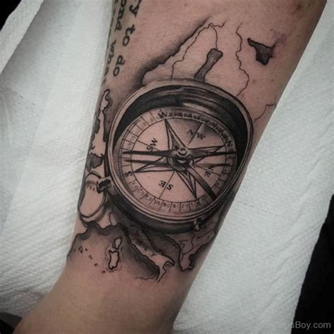 compass tattoo images designs