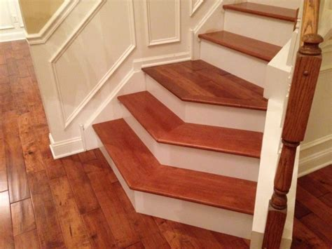 Bamboo stair tread, bamboo stair treads and risers stair