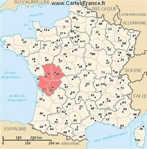 Poitiers Carte De France : poitou charentes ~ Dailycaller-alerts.com Idées de Décoration