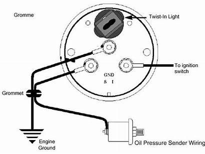 Wiring Gauge Diagram Temp Autometer Pressure Oil