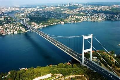 Istanbul Turkey Bosphorus Asia Bridge Bosporus Europe