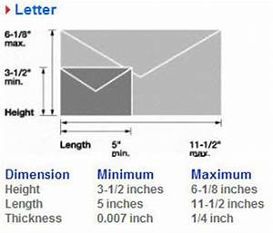 usps letter size how to format cover letter With letter size mail dimensional standards template