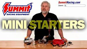 Summit Racing Mini High-torque Starters For Gm