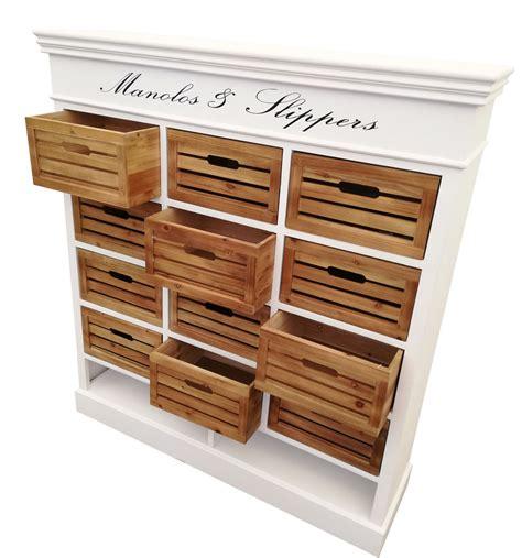Bei uns findest du möbel in allen formen, farben und größen. Weiße Kommode Mit Holzkörben : Sideboard Landhaus, Kommode ...