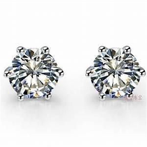 Popular Moissanite Earrings-Buy Cheap Moissanite Earrings ...