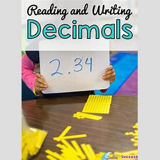 Reading And Writing Numbers With Decimals  Surfing To Success