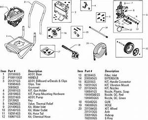 34 Troy Bilt Pressure Washer Pump Parts Diagram