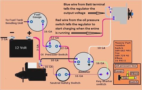 massey ferguson 135 light wiring diagram vivresaville
