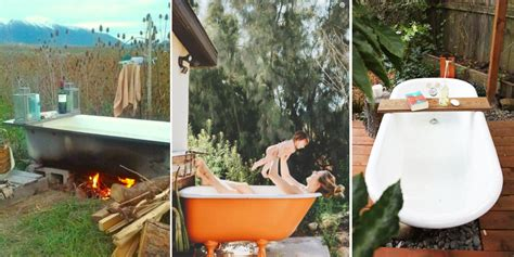 Backyard Tub by Backyard Bathtubs For Soaking Up The Great Outdoors