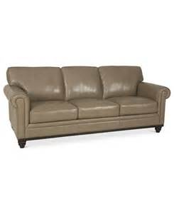 martha stewart collection bradyn leather sofa furniture macy s