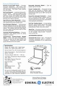 Ge Washer Technical Service Guide
