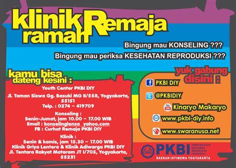 Klinik Aborsi Yogyakarta Ilm Klinik Ramah Remaja Pkbi Daerah Istimewa Yogyakarta