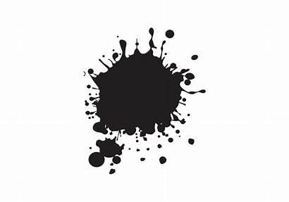 Splat Vector Paint Splatters Vectors Splatter Drip