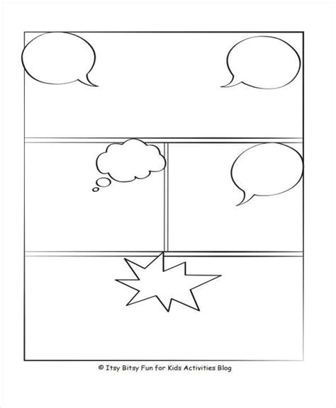 comic storyboard examples  word