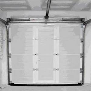 Conseils choisir une porte de garage sectionnelle for Dimension porte de garage sectionnelle