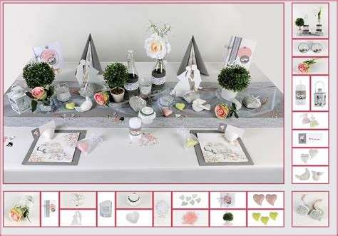 Tischdeko Türkis Grau by Tischdeko Hochzeit 9 In Grau Rosa Als Mustertisch