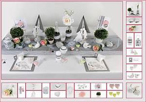 Tischdeko Rosa Grau Aufregende Hochzeitsdeko In Grau Rosa 4