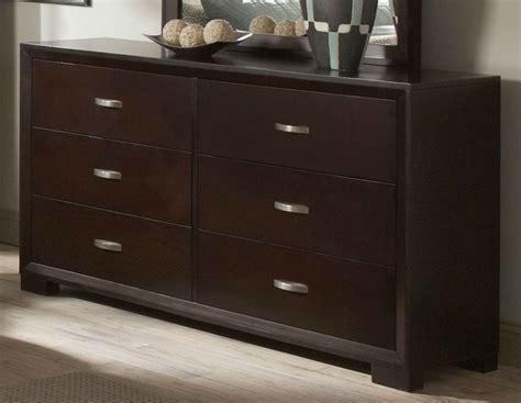 Astrid Contemporary Espresso Dresser